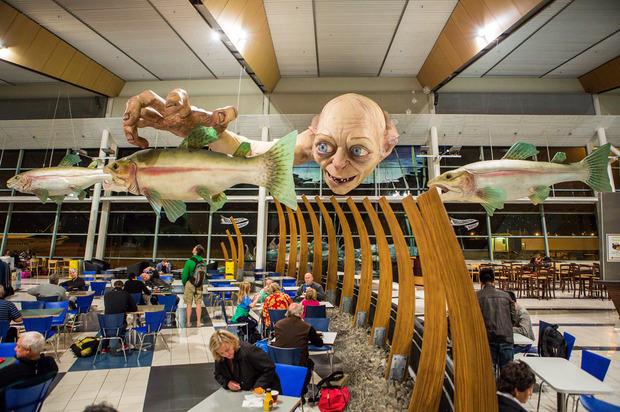 В аэропорту Веллингтона построили гигантскую скульптуру Горлума. Изображение № 4.