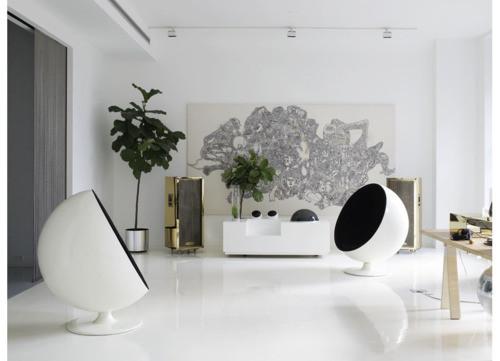 Black&white - 33 красивейших интерьера черно-белой гаммы. Изображение № 32.