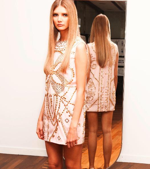 Донателла Версаче для H&M на страницах русского Vogue. Изображение № 8.