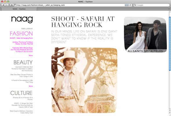 Ушли в сеть: 10 онлайн-журналов о моде. Изображение № 29.