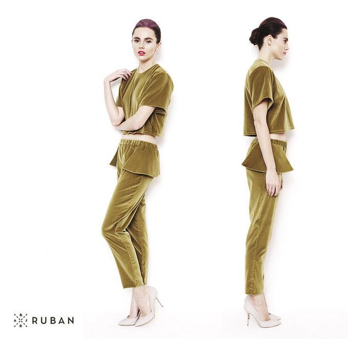 Ruban выпустили лукбук весенне-летней коллекции. Изображение № 20.