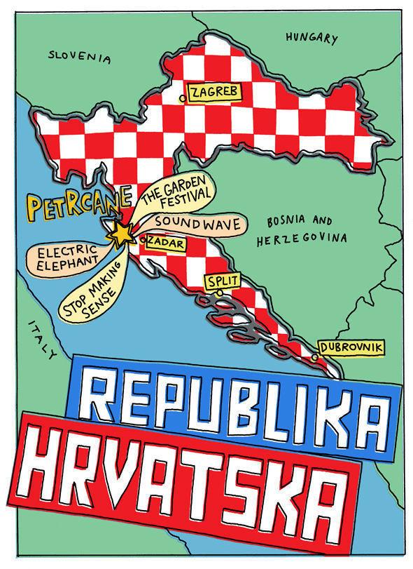 Карта для Хорватского фестиваля. Изображение № 7.