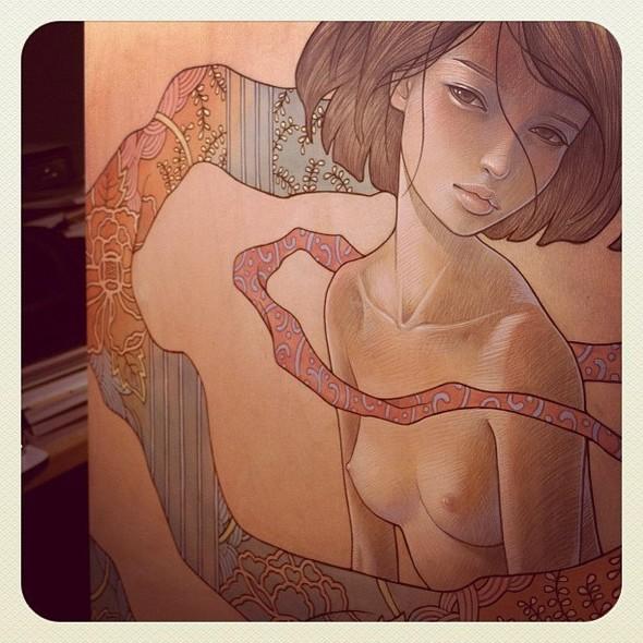 Новые работы Audrey Kawasaki. Изображение № 11.