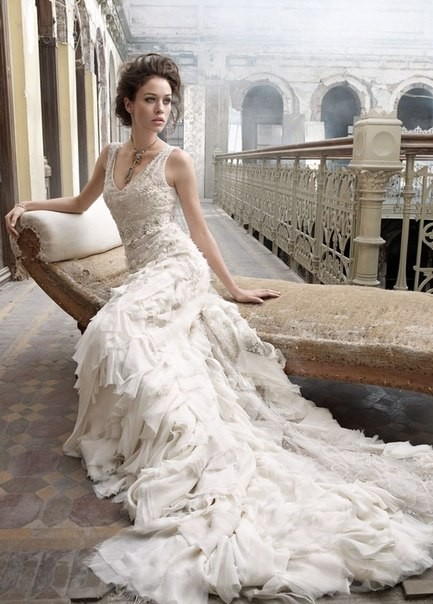 Lazaro Bridal Collection 2012. Изображение № 7.