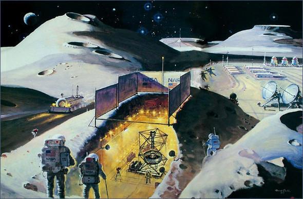Каким было будущее. Космореализм Роберта МакКолла. Изображение № 16.
