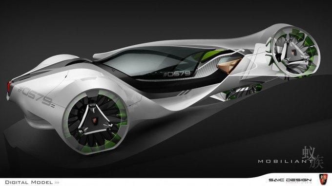 SAIC Motor представил концепцию машины-муравья. Изображение № 6.