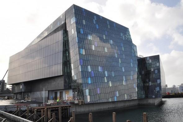 Культурный центр из стекла в Рейкьявике. Изображение № 4.