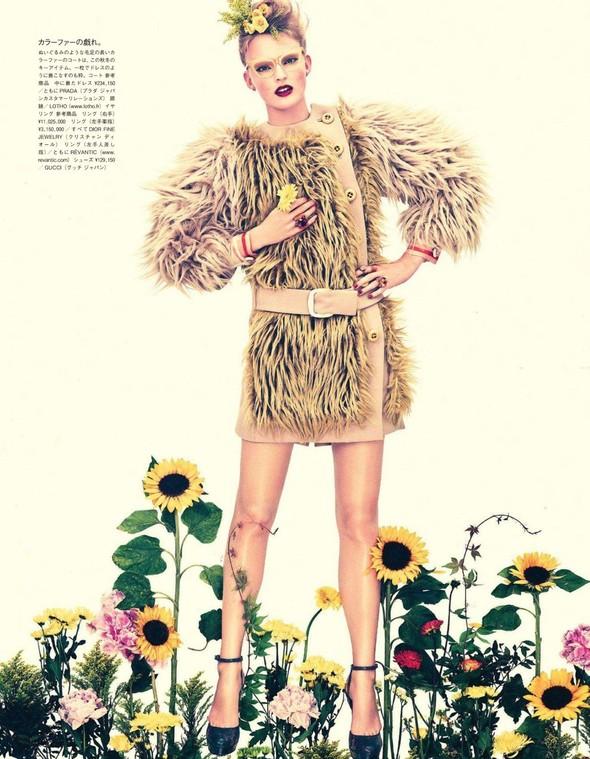 Съёмка: Имре Стикема для Vogue. Изображение № 6.