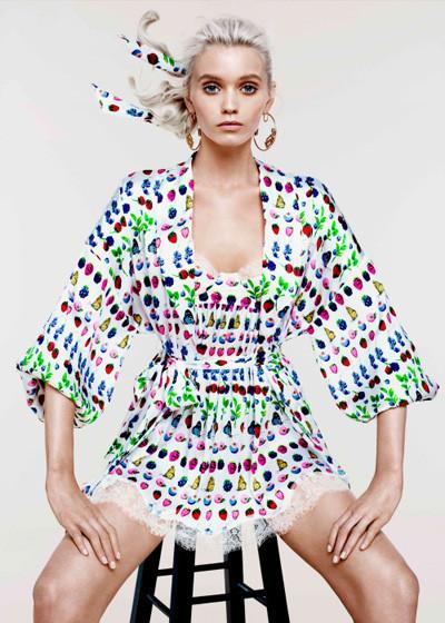 Лукбук: Эбби Ли Кершо для Versace for H&M Cruise 2012. Изображение № 2.