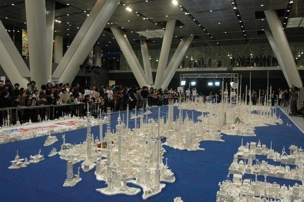 Трехмерная модель Японии из LEGO. Изображение №3.
