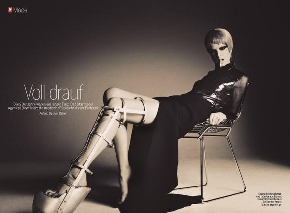 Съемка: Агнесс Дейн для немецкого журнала Stern. Изображение № 1.