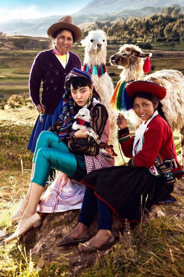 Новые съемки: Vogue, 25 Magazine, Exit. Изображение № 3.