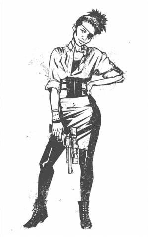 Девушки с оружием от Frank Barbara. Изображение № 37.