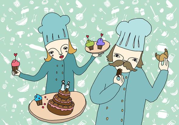 Забавные иллюстрации sweetpirat. Изображение № 4.