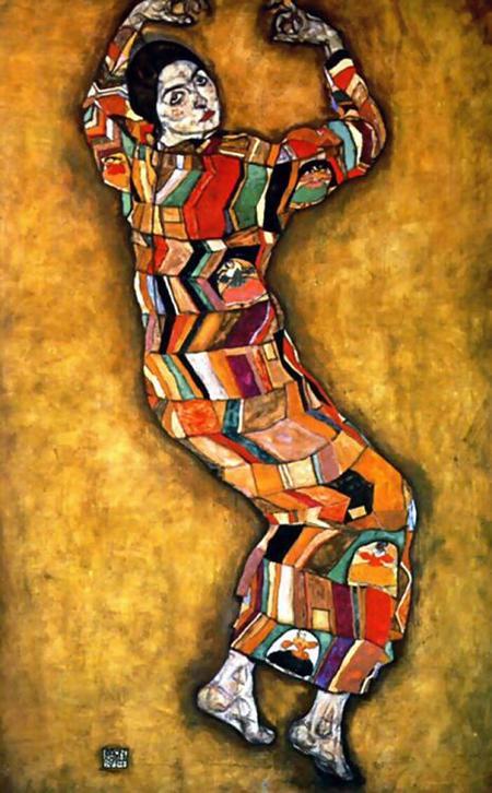 Эгон Шиле. Эротика вискусстве живописи ирисунка. Изображение № 17.