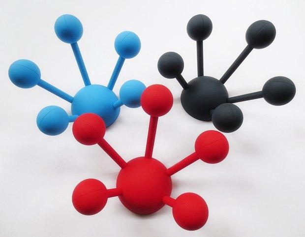 Как дизайнеры вдохновляются наукой: Молекулы и атомы  в интерьере. Изображение № 4.
