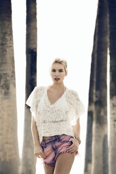 Александра Спенсер для новой коллекции Car Mar весна 2012. Изображение № 2.