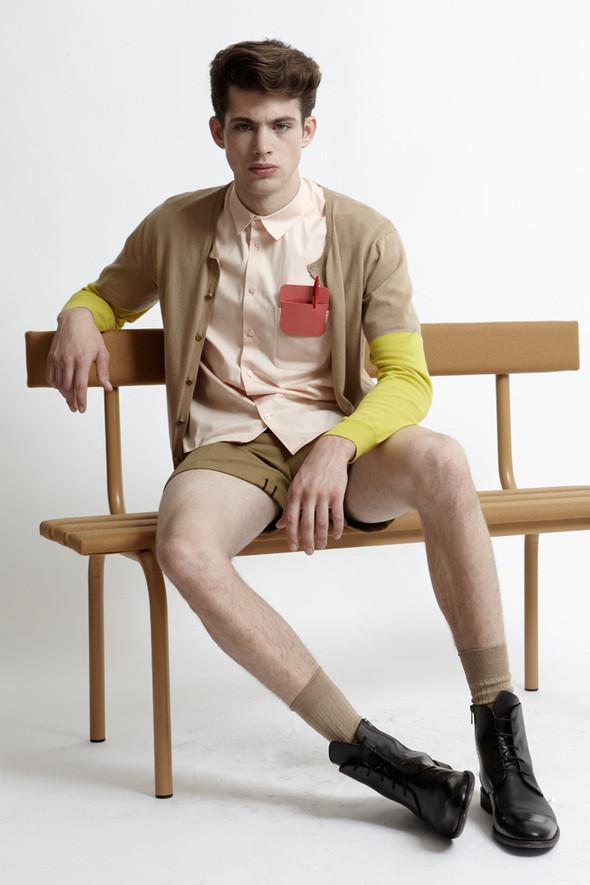 Изображение 5. Лукбук: Carven SS 2012 Menswear.. Изображение № 5.