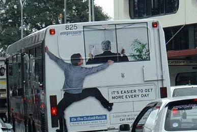 Необычная автобусная реклама. Изображение № 15.