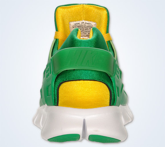 Nike Huarache Free 2012 – Court Green – White – Tour Yellow. Изображение № 8.