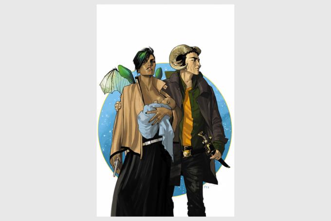 Обложка первого выпуска Saga. Изображение № 1.