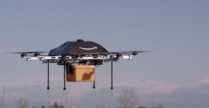 Amazon будет доставлять посылки с помощью дронов. Изображение № 1.