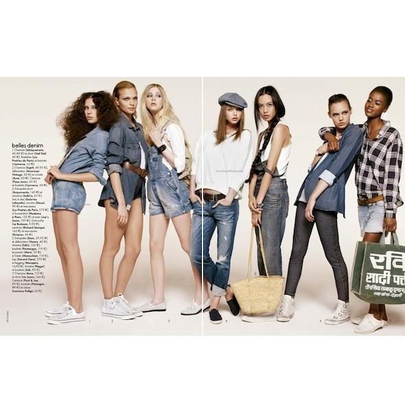 5 новых съемок: Amica, Elle, Harper's Bazaar, Vogue. Изображение № 15.