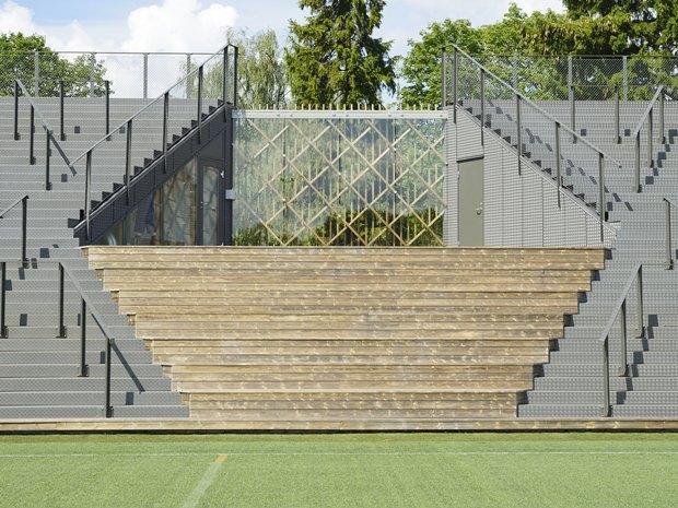 Стадион Lidingövallen авторства DinellJohansson) . Изображение № 17.