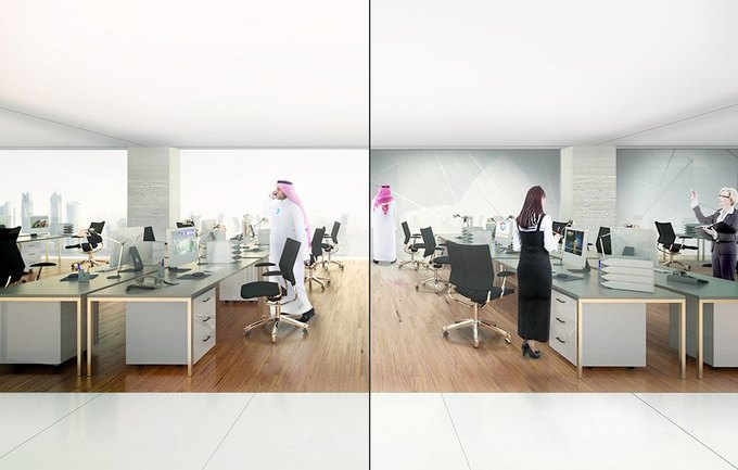 Бюро REX предложило концепцию небоскрёба с функцией зонта. Изображение № 5.