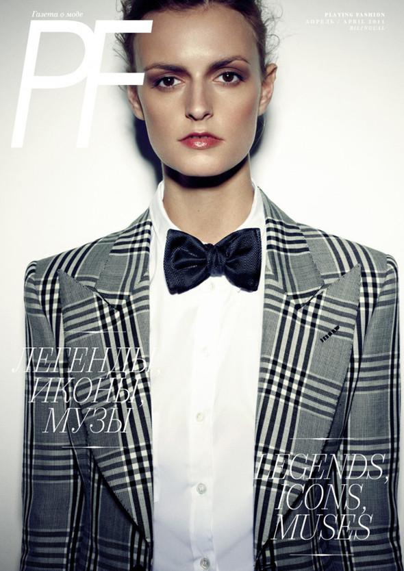 Изображение 1. Обложки: Dossier, Flare и Playing Fashion.. Изображение № 3.