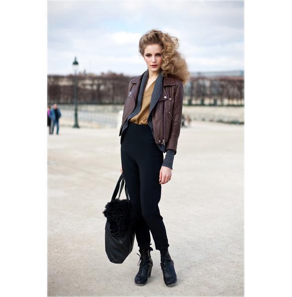 Луки с Недели моды в Париже. Изображение № 1.
