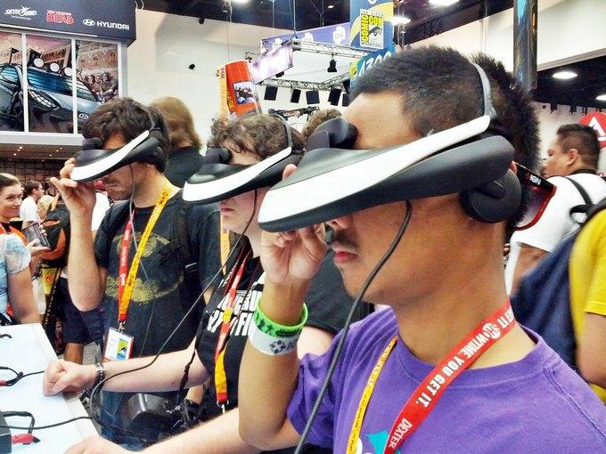 Sony собирается показать очки виртуальной реальности. Изображение № 1.