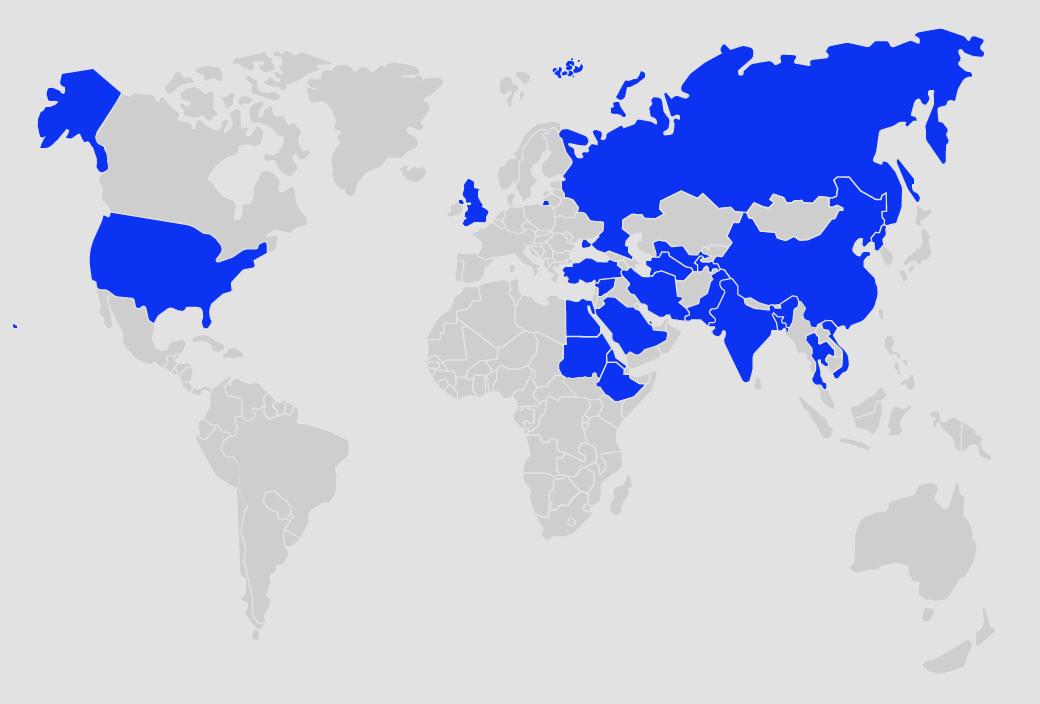 Россия и еще 22 страны, где больше нет свободного интернета. Изображение № 2.