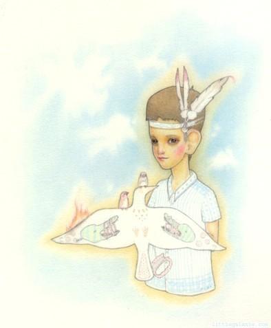 Детский иллюстратор Lilly Piri, любительница конвертов. Изображение № 14.