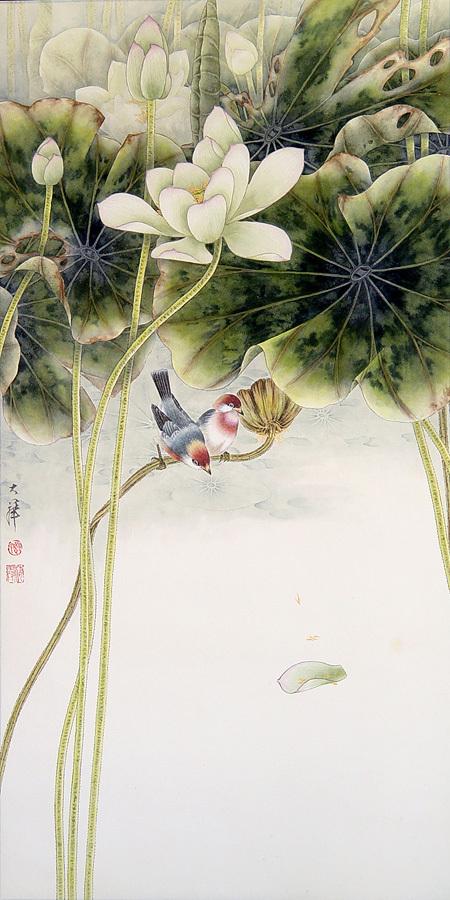 Птицы ицветы. Изображение № 28.
