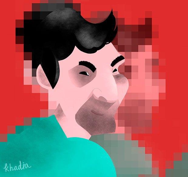 Иллюстраторы рисуют анонимных художников. Изображение № 21.