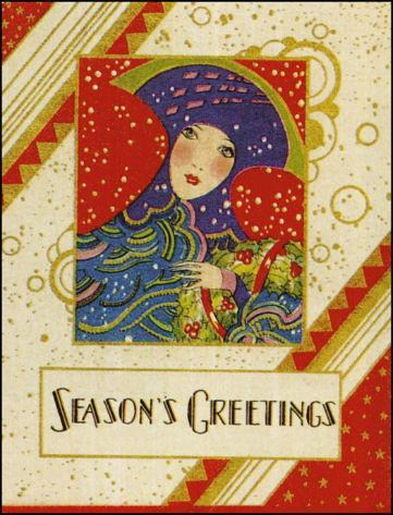 Новогодние fashion cards. Изображение № 21.