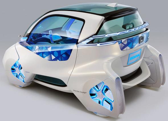 Концепт электрокара для города - Honda Micro Commuter. Изображение № 2.