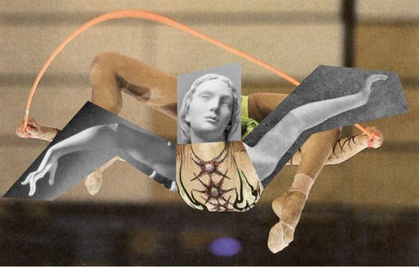 Новая атлетика: Олимпийские виды спорта в коллажах Йена Ульриха. Изображение № 3.