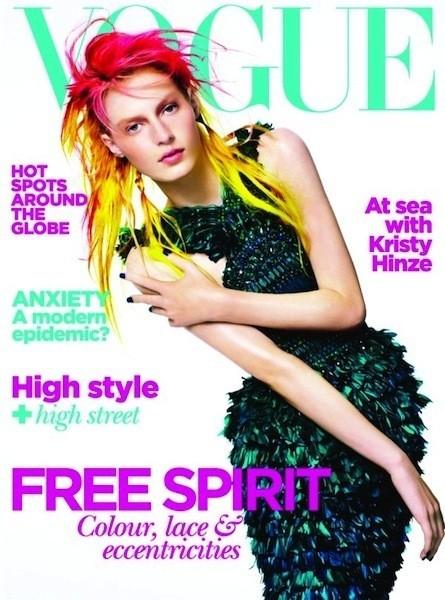 Коллекция Gucci SS 2011 появилась на 50 обложках журналов. Изображение № 49.