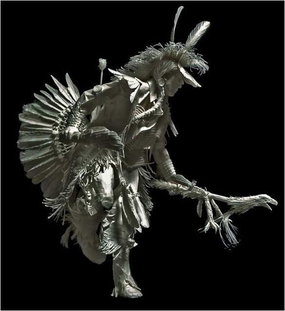 Бумажные скульптуры. Изображение № 16.