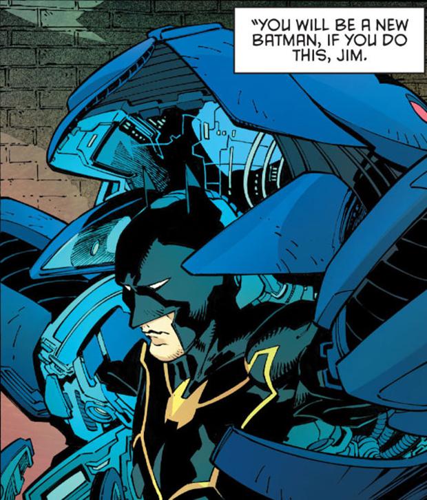 В комиксах новым Бэтменом стал комиссар Гордон. Изображение № 6.