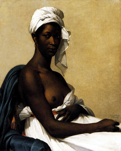 «Портрет негритянки» Мари-Гийемин Бенуа . Изображение № 6.