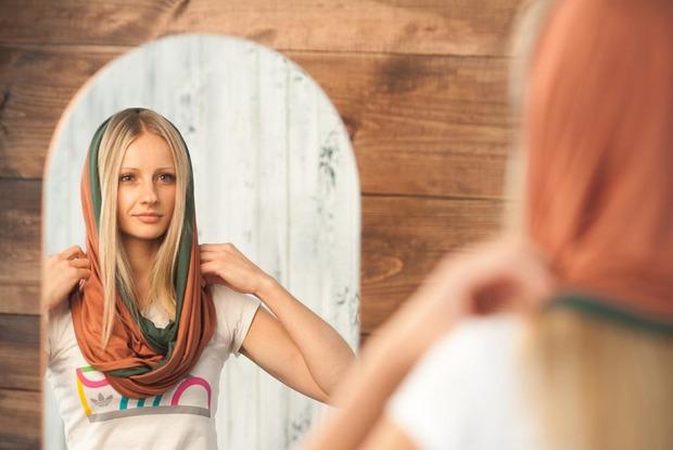 Осенняя коллекция ярких шарфов-снудов. Изображение № 16.