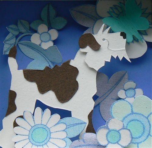 Бумажные картины-аппликации Helen Musselwhite. Изображение № 45.