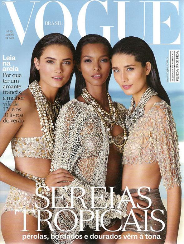 Обложки Vogue: Турция и Бразилия. Изображение № 2.