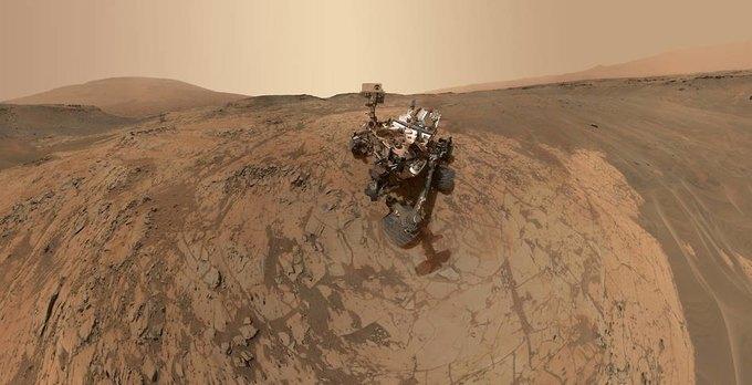 Curiosity обнаружил на Марсе следы соединений азота. Изображение № 1.