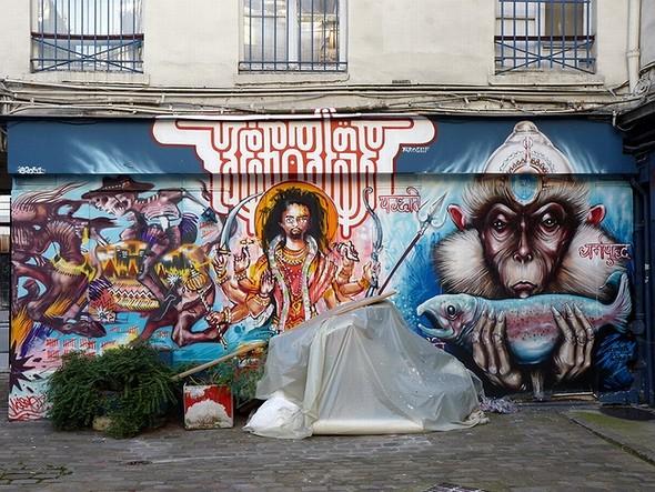 Стрит-арт в Париже. Изображение № 23.