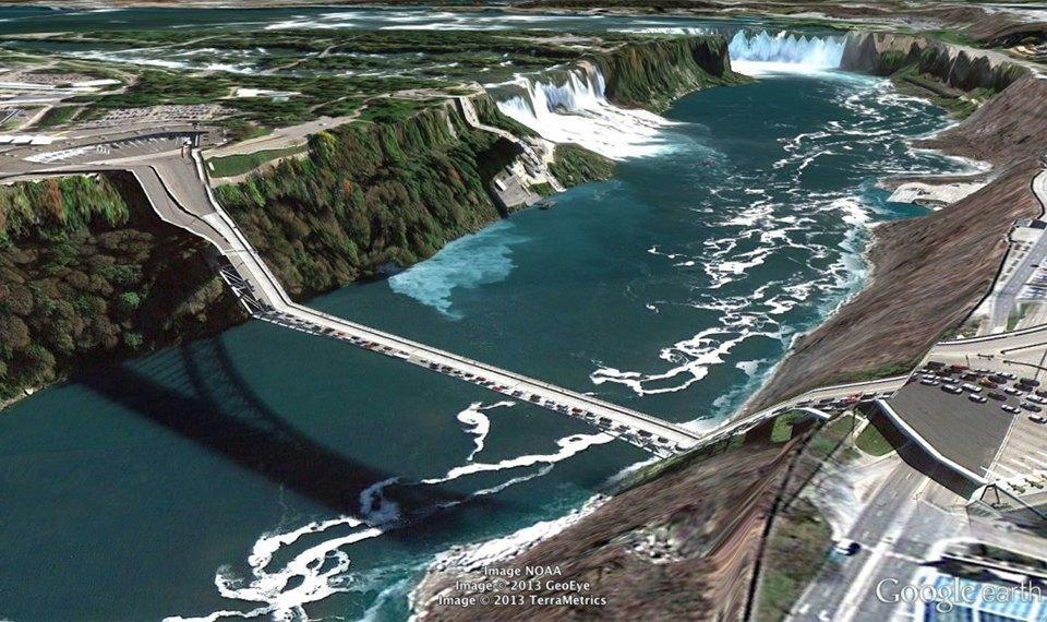 32 фотографии из Google Earth, противоречащие здравому смыслу. Изображение № 7.