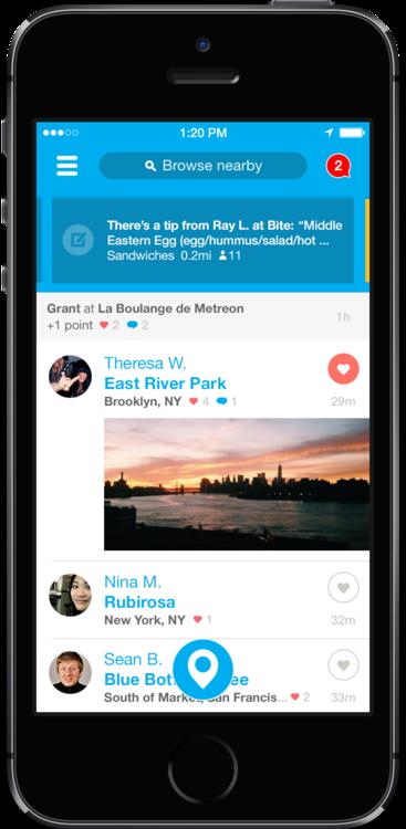Обновилось приложение Foursquare для iOS 7. Изображение № 3.